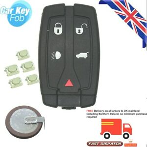 Repair kit for Land Rover Freelander 2 2007 - 2011 5 button remote key fob