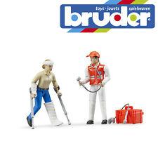Bruder Figure-Set Ambulance Emergency Paramedic Childrens Kids Toy Model Figure