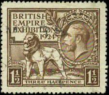 Great Britain  Scott #186 Used