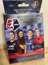 *MINT* NWSL 2021 Official Trading Cards Premier Edition Hanger Box Womens Soccer