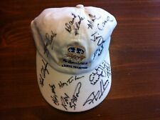 3 Signed Horse Racing Ball Caps, Queens Plate, International, Breeders Stake