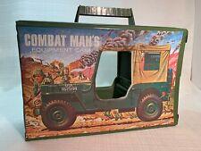 GI Joe Combat Man's Equipment Case 1960's