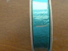 Stampin' Up  Retired Crinkled Seam Binding Ribbon Emerald Envy