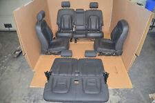 Audi Q7 4L Lederausstattung Leder Schwarz Sitzausstattung 7 Sitzer