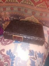 Book Box Hidden Jewelry Secret Fake Faux Vintage Treasure-