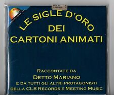 box 2 CD LE SIGLE D'ORO DEI CARTONI ANIMATI Gundam Mazinga tv Baldios  Lilly TV