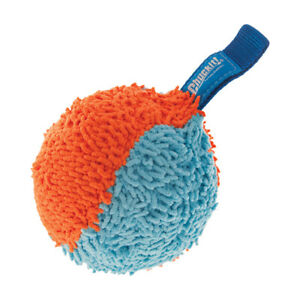 Brand New Chuckit!-Indoor Shaker Ball Safe Durable Plush Fetch Dog Puppy Toy