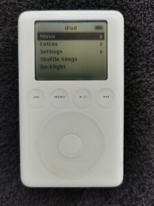 Apple iPod 3rd Generation 40GB Wolfson DAC A1040 MP3 RARE vintage