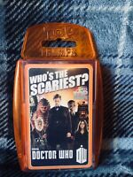 Doctor Who Top Trumps card game - 'Who's The Scariest?'