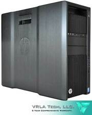 HP Z840 Workstation 2 x E5-2687W V4 192GB RAM 1 x 1TB HDD GTX 1080 Video Card