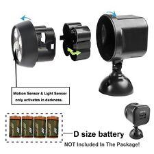 Motion Sensor Spotlight Battery Power Weatherproof Wireless Security Lights