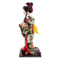 Exquisite Japanese Kimono Doll Kabuki Statue Geisha Figurine Home Decor #18