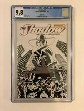 The Shadow #1H Black and White Variant 1:100 Dynamite (Apr, 2012) CGC 9.8 M-