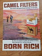 1966 Camel Cigarette Ad Surf Fishing Theme