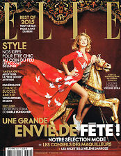 ELLE France 19 December 2015 VIRGINIE EFIRA Gisele Bundchen CORA EMMANUEL @New@