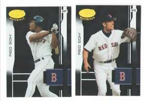 2003 Leaf Certified Materials BOSTON RED SOX Team Set