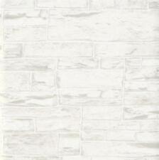 Luxe Erismann Brix Inégale Pierre Bloc Mur Brique Papier peint Vinyle Texturé
