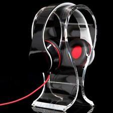 Acrylic Headphone Headset Earphone Stand Holder Hanger Headpho Pro Universal US
