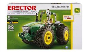 NEW Meccano Erector Set 8R Series John Deere Tractor 10+ LP69984