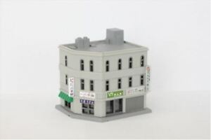 Rokuhan Z Scale Corner Shop/Office Building A S034-1