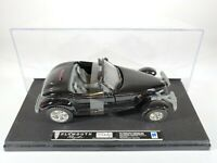 New Ray Plymouth Prowler Black New in Display Case 1/32 Scale Diecast