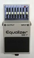 BOSS GE-7 Equalizer Guitar Effects Pedal made in Japan 1982 #195 Free Shipping