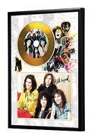 T Rex Marc Bolan Gold CD, Autograph & Plectrum Display Glam/70s/Slade/Sweet