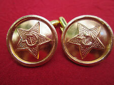 Boutons manchette Cufflink USSR URSS RUSSIA RUSSIE ARMY RED ARMÉE ROUGE