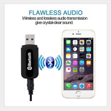 3.5mm AUX to USB 4.2 Bluetooth Receiver Music Audio Adapter Converter for Cars