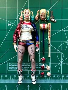 Medicom MAFEX # No. 033 Harley Quinn Suicide Squad Loose Complete AUTHENTIC