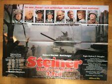 Steiner - Das eiserne Kreuz, 2.Teil (A0-Plakat '79) Richard Burton / Rod Steiger