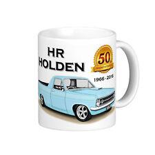 HOLDEN  HR  186  UTE 50th  ANNIVERSARY QUALITY  11oz.  MUG  ( 6 CAR COLOURS)