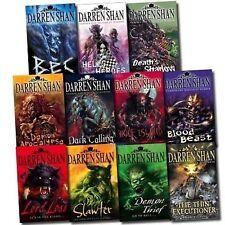 The Darren Shan Boy's/Girl's Interest Fantasy 11Books Age9-12 Paperback English