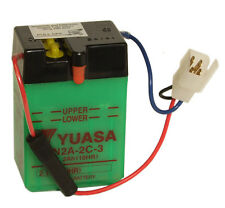 Genuine Yuasa 6N2A-2C-3 6V Motorbike Motorcycle Battery