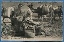 CPA MAROC: SCENES ET TYPES - Un Fondouk / 1908