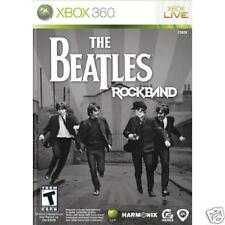 BRAND NEW The Beatles Rock Band Xbox 360 Game SEALED RockBand