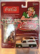 Johnny White Lightning Coca Cola White 1955 Ford F-100 Panel Van
