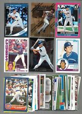 LOT OF 60 DIFFERENT Ryne Sandberg CARDS  BASE COMMONS RP'S INSERT CHICAGO CUBS