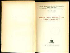 IZZO Carlo, Storia della letteratura nord-americana