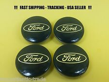 4 x Center Cap For Ford 54mm Fusion Escape Focus Fiesta Logo Wheel Caps Blue