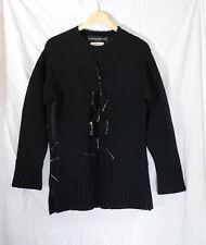 Ryuichiro Shimazaki Homme Layered Wool Sweater With Safety Pins