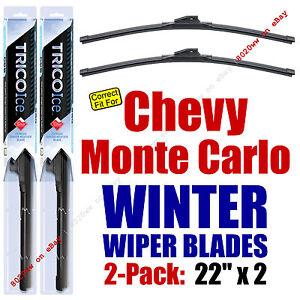 WINTER Wipers 2-Pack Premium Grade - fit 1995-2007 Chevrolet Monte Carlo 35220x2