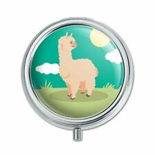 Cute and Fluffy Alpaca Pill Case Trinket Gift Box