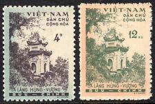 Viet Nam 119-120, MI 123-124, MNH. Hung Vuong Temple, 1960