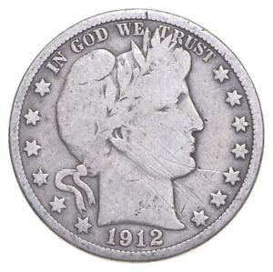 Better 1912-D - US Barber 90% Silver Half Dollar Coin Collection Set Break *424