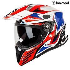 Airoh Commander Dual Sport Motorcycle Helmet - Carbon Red