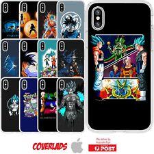 iPhone Silicone Cover Case Dragon Ball Z Super Anime Manga Art Swag - Customlads