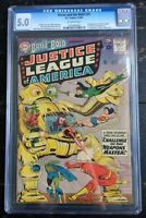 Brave And The Bold #29 CGC 5.0 2nd Appearance Justice League Of America