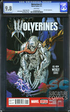 WOLVERINES #1 - CGC 9.8 - FIRST PRINT - SOLD OUT - DEATH OF WOLVERINE - LOGAN
