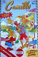 CAMILLO N.1 ANNO I 1993 - MENSILE PER RAGAZZI DI GIOCHI, CURIOSITA'   Q2